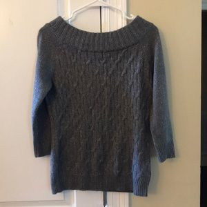 Gray New York & Company sweater
